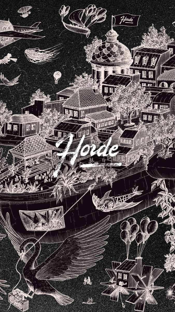 Horde Paris – Cruise S05 – Header phone